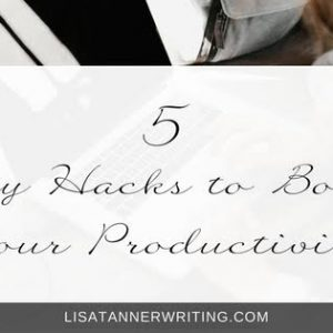 You need to boost your productivity if you're trying to grow your business without working all the time. Here are some easy hacks to help.